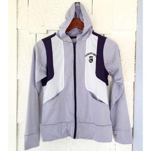 Vintage Women's Nike Zipper Hoodie/Hooded Jacket